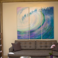 Making Waves, residential installation